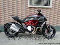 【全新杜卡迪街车】2012年全新意大利杜卡迪魔鬼DIAVEL-Carbon碳纤版