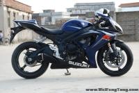 07年 SUZUKI 蓝黑色小骑士 GSX-R600 K7 600 小R