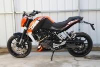 现货销售:2012全新ktm duke200