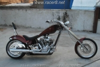 《美国订制》2010 美国 红色铁马订制 Chopper