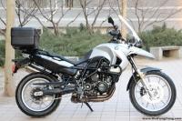 2010款宝马F650GS摩托车 现货销售 黑白 成色新 先到先得