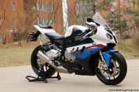 2010款宝马S1000RR,蓝白 可调节四种动力模式 另附高清实车图片