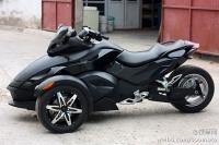 新到10款 庞巴迪RS 亚光黑 电子换挡 改装排气及轮毂 只行驶一千余英里 十三万多元