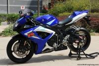 2006款铃木GSX-750 蓝色  三千多公里