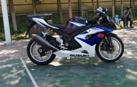 2006款铃木 GSX-1000 蓝白色 铃木大R