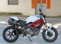 新到2012年款杜卡迪怪獸 MONSTER 796 ABS版 紅白黑三色