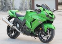 新到2007年川崎Z X-14R 六眼魔神 绿色