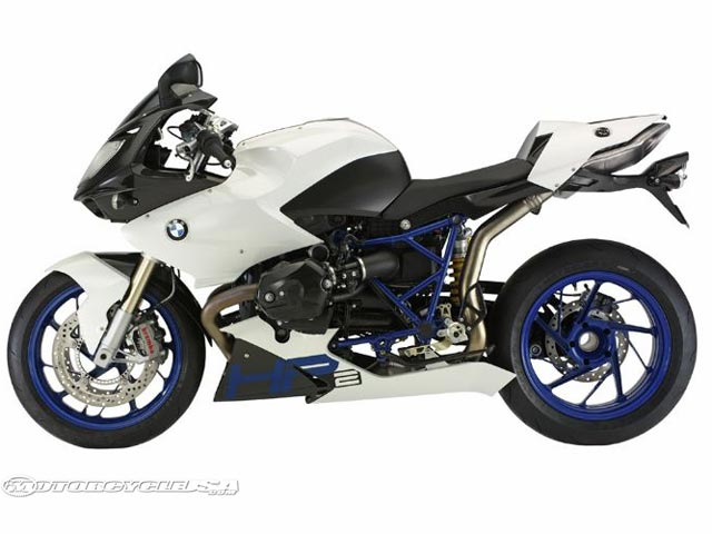 款宝马HP2 Megamoto摩托车图片1
