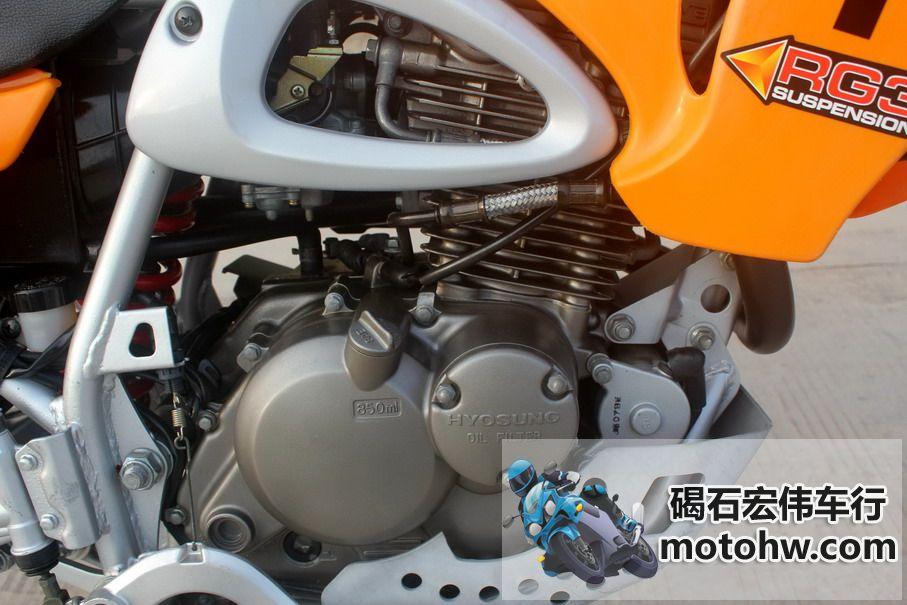 现货出售 07年韩国HYOSUNG-RT125T 电镀轮圈 图片 1