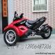 【二手庞巴迪三轮】09年原版原漆自动波庞巴迪三轮摩托中红色运动版Can-Am Spyder2