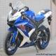 2008款 铃木GSX-R600 小R K8 蓝白色2