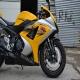 2007款铃木GSX1000 铃木大R K7 黄色 带银边不到七千公里1