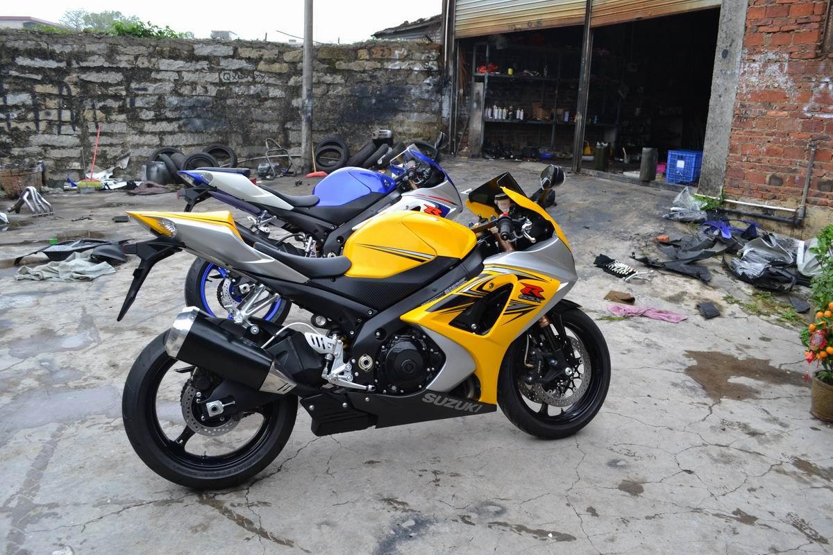 2007款铃木GSX1000 铃木大R K7 黄色 带银边不到七千公里 GSX-R1000图片 3