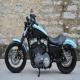 2008款气派独特哈雷 Harley Davidson XL1200N 兰黑色0