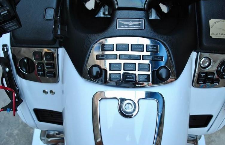 【图】2009款白色本田金翼gl1800 正三轮豪华旅行车