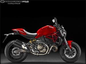 杜卡迪Monster 821摩托车车型图片视频