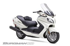 铃木Burgman 650摩托车