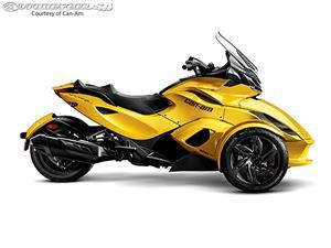 庞巴迪Spyder ST-S摩托车