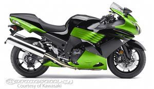 川崎Ninja ZX-14摩托车