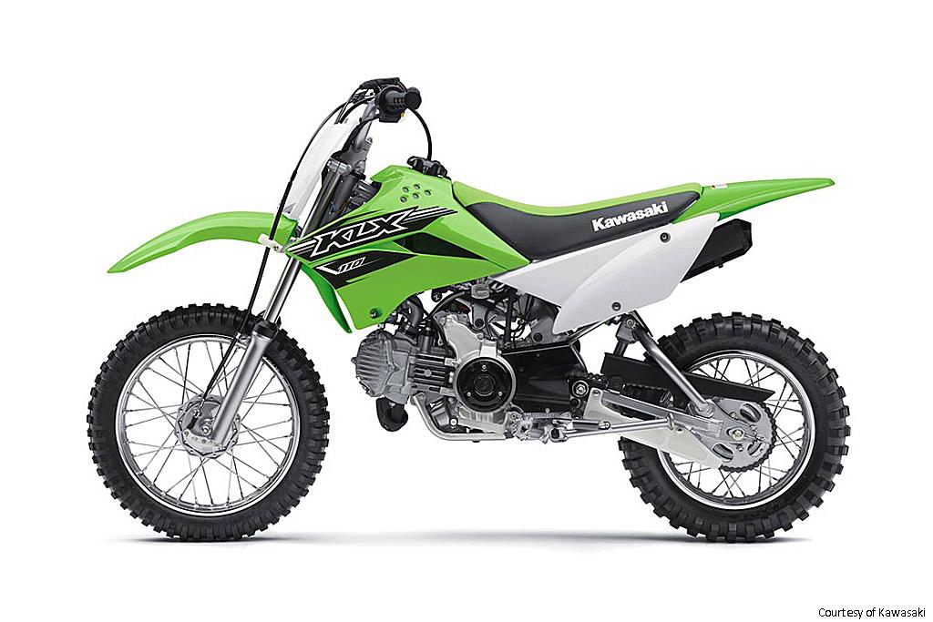 川崎KLX110摩托车