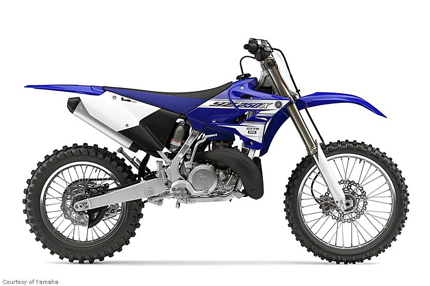 雅马哈YZ250X摩托车